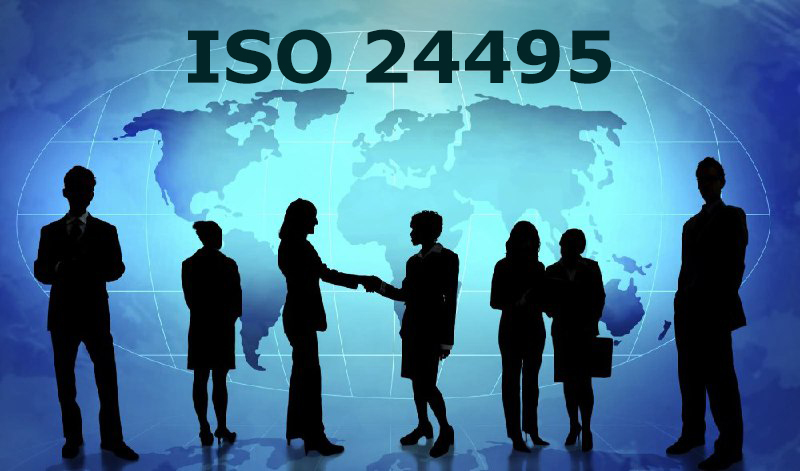 Removal of barriers for information transmission using ISO 24495