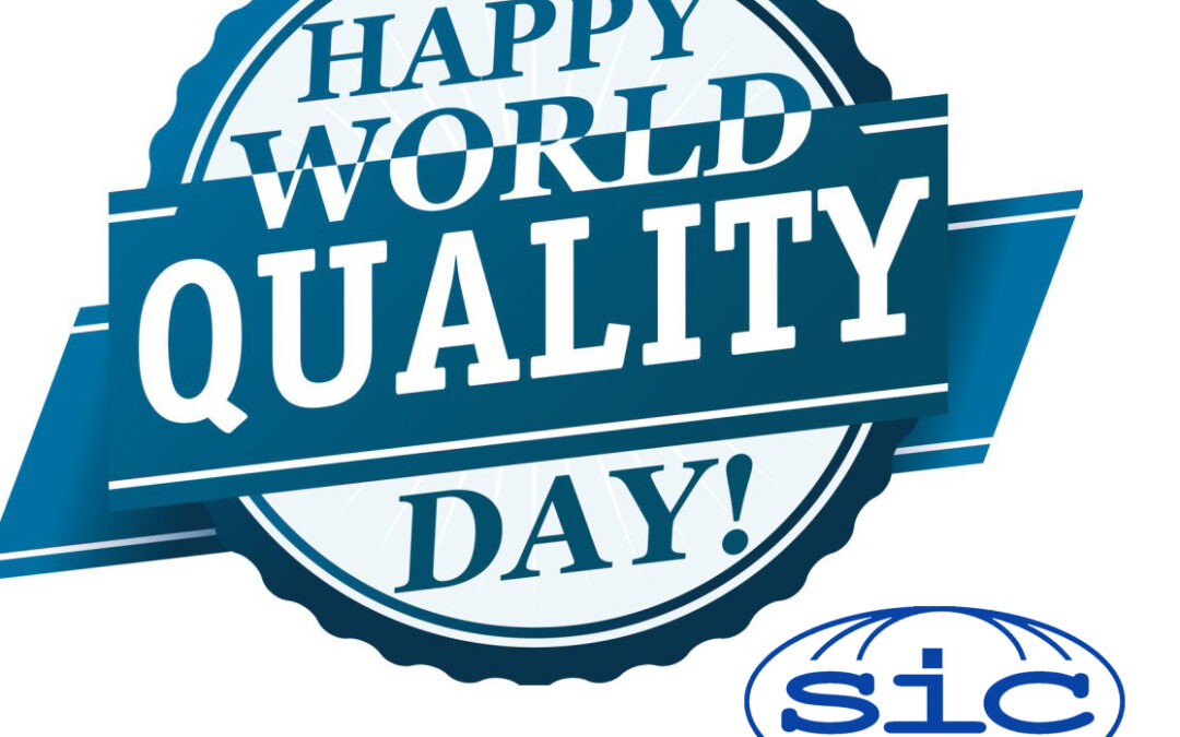S.I.C. Global Inc. Congratulations on World Quality Day!